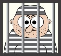 cartoon-prisoner-behind-bars-10416629