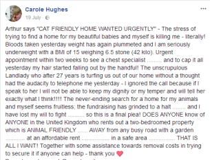 please give carole 3000 her hair is falling out and her weight plummeting