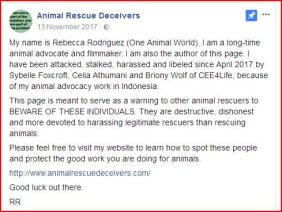 animal rescue deceivers