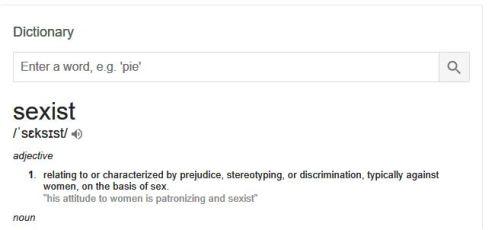 sexist definition