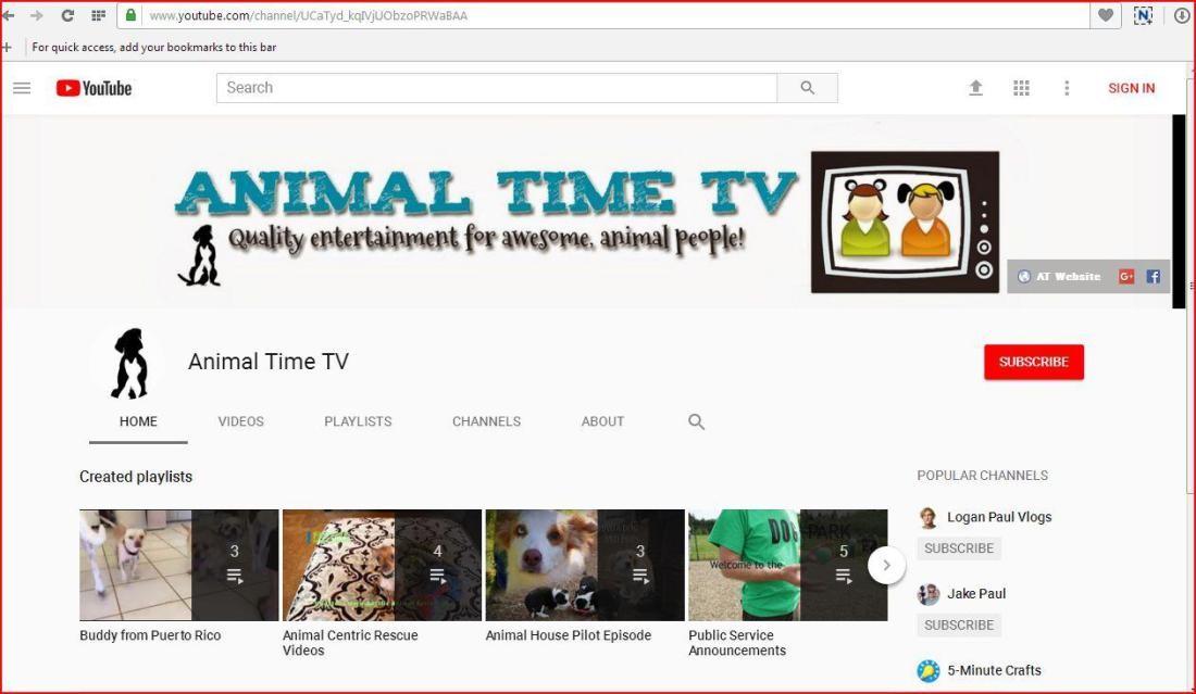 original animal time tv