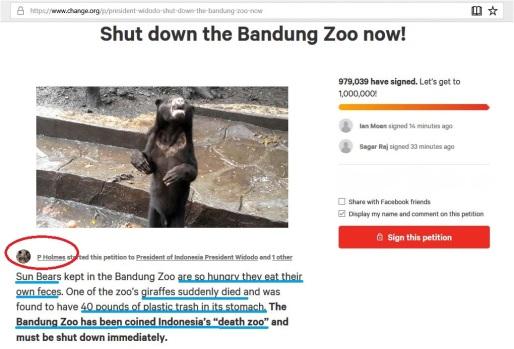 president widodo shut down bandung zoo now