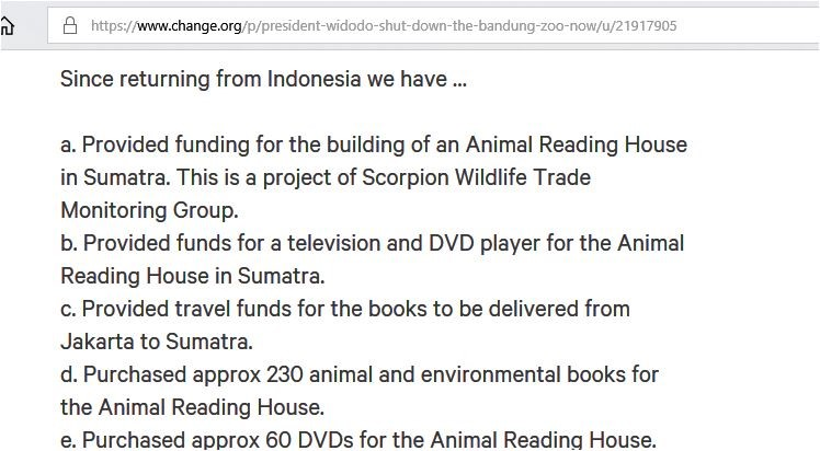 since returning from indo we have done reading house