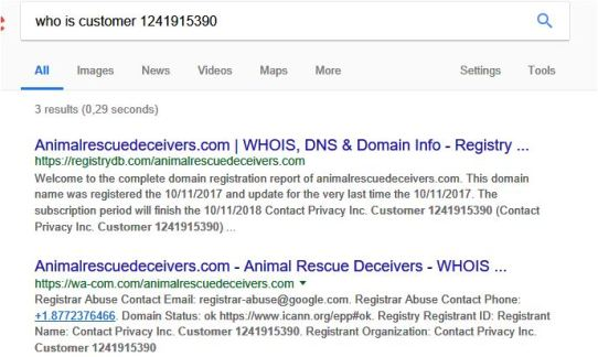 who is animalrescuedeceivers