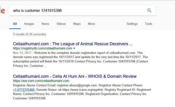 who is celia athumani dot com