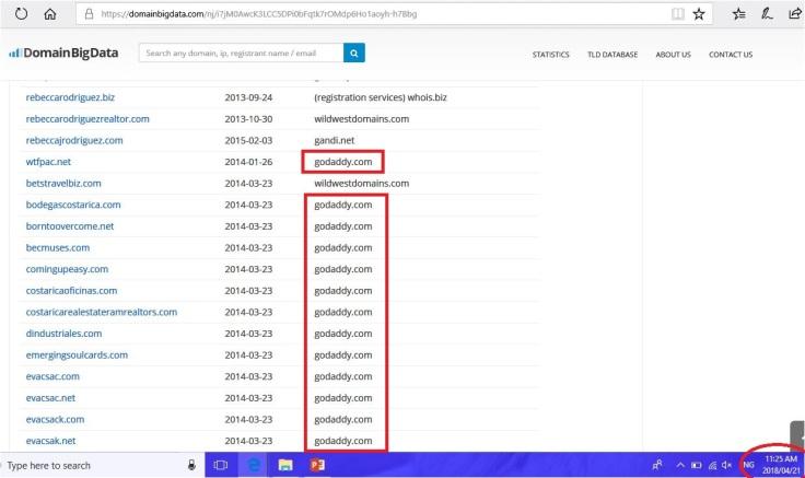 reb domain list 3