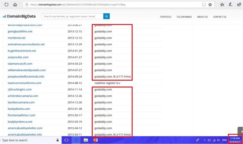 reb domain list 6