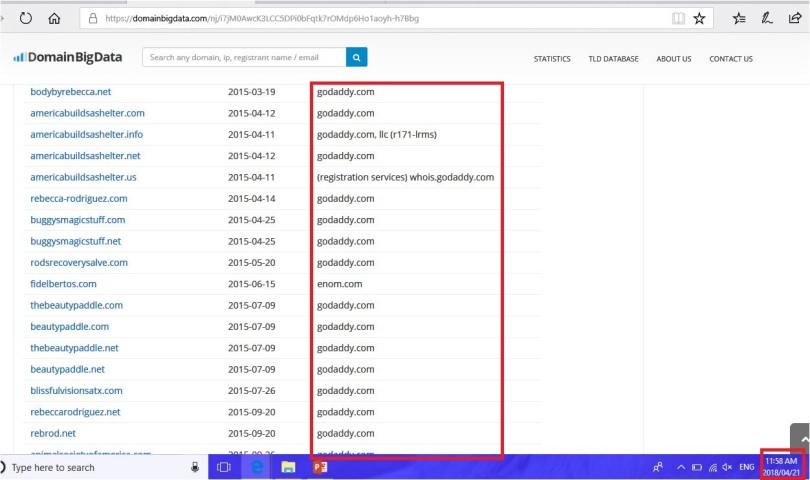 reb domain list 7