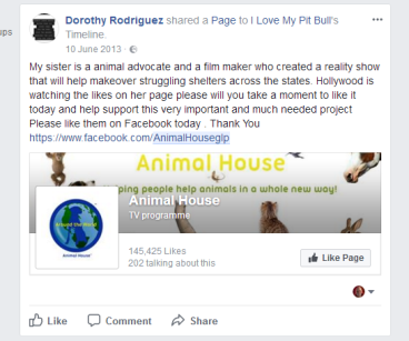 dorothy rodriguez my sister rebecca and hollywood is watching the likes on the page