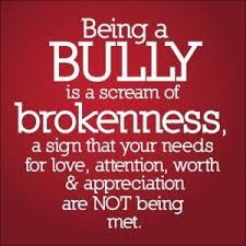 bullying is brokeness
