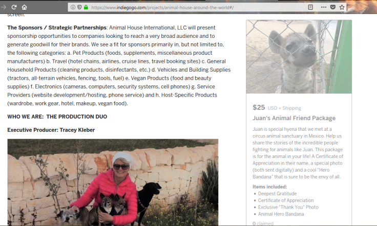 indi animal house around the world fundraiser 7