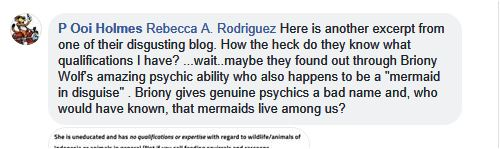poo bashing briony as psychic and mermaid